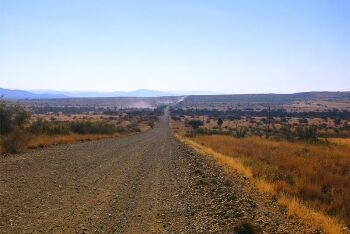 Road to Olifantshoek, Kalahari, Northern Cape