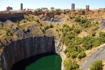 Big Hole, Kimberley, Diamond Fields, Northern Cape